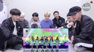 [BANGCHIN] BTS REACTION TO GFRIEND FINGERTIP + DANCE BREAK + LOVE WHISPER @SBS GAYO DAEJUN