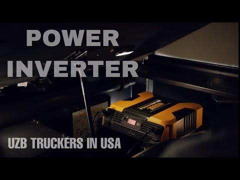 Power Inverter ?олатини текшириш ва кабелини таъмирлаш. UZB Truckers in USA