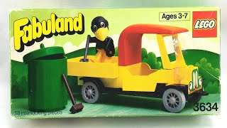 LEGO Fabuland Charlie Crow's Carry-All review! 1980 set 3634!