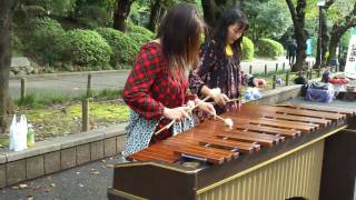 getlinkyoutube.com-ナツ&カヨ ジブリメドレー(上野公園)