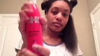 getlinkyoutube.com-Curly to Straight (wash routine)