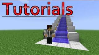 Minecraft Water ESCALATOR Tutorial