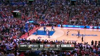 getlinkyoutube.com-Clippers Game 4 Comeback Win vs Thunder - Fourth Quarter Highlights