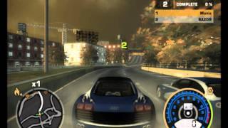 getlinkyoutube.com-Need For Speed Most Wanted - Darius vs Razor Blacklist Nr 1 - Race 1 [HD]