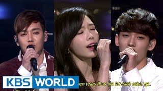 getlinkyoutube.com-TaeYeon & CHEN, HwanHee - Breath / Like the Stars [2014 KBS Song Festival / 2015.01.14]