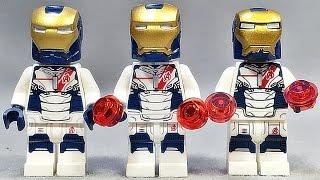 getlinkyoutube.com-decool 어벤져스 아이언레기온 아이언맨 드론 레고 짝퉁 미니피겨 Lego knockoff avengers agent iron legionaire