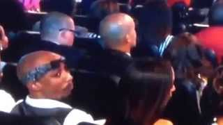 getlinkyoutube.com-Tupac spotted at the BET Awards 2014.