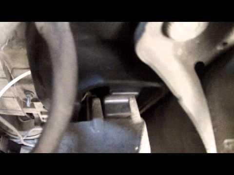 Расположение подушек двигателя в Мазда 2