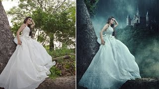 getlinkyoutube.com-Photoshop Manipulation Effects Tutorial - LONELY PRINCESS