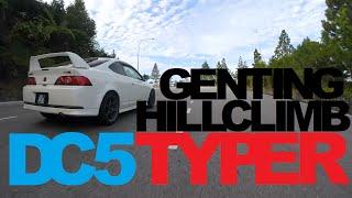 getlinkyoutube.com-DC5 Type-R Genting Hill Climb (1 Sept 2014)