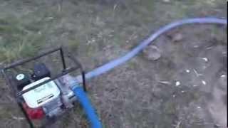getlinkyoutube.com-HONDA WATERPUMP WB20XT / pompa air / alkon Honda