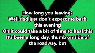 getlinkyoutube.com-Ed Sheeran - Runaway (Lyrics)