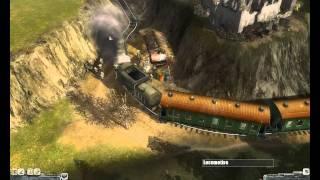 getlinkyoutube.com-Men of War | Train Ambush Mission!