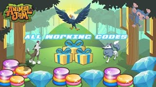 Animal Jam - ALL WORKING CODES DECEMBER 2016/JANUARY 2017