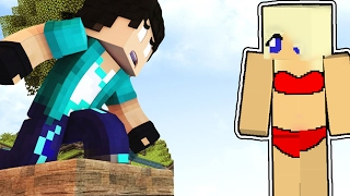 getlinkyoutube.com-Minecraft : A MENINA DE BIQUÍNI !!! (MINECRAFT BED WARS!)