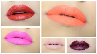 getlinkyoutube.com-Anastasia Beverly Hills Liquid Lipstick Swatches  | gkhairmakeup