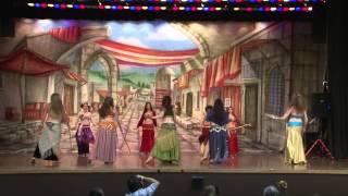 getlinkyoutube.com-Melanie Kareem Topanga Dancers @ Cairo Shimmy