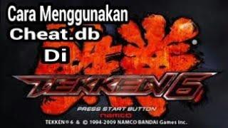 Tekken 6 PSP Cara Menggunakan Cheat.db