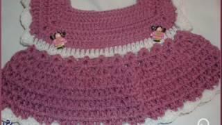 getlinkyoutube.com-كيف تعملي فستان حلو بالكروشيه crochet a baby dress