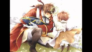 getlinkyoutube.com-Hetalia Romano's in Spain's arms