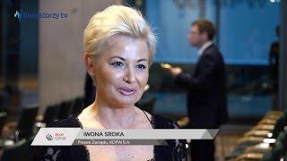 Uroczystość Wręczenia Nagród Za Osiągnięcia w 2015 roku: Iwona Sroka, KDPW S.A.