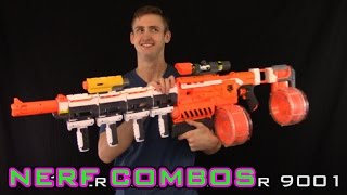 getlinkyoutube.com-NERF COMBOS | DEMOLISHER