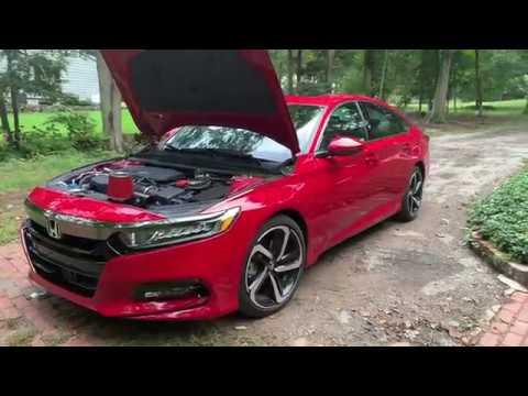 Honda Accord 2018 air intake sound (Stock VS air intake)
