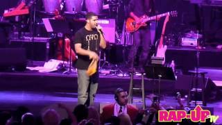 Drake et Stevie Wonder sur scène