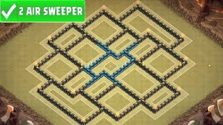 getlinkyoutube.com-Clash Of Clans | AWESOME TOWN HALL 9 WAR BASE | TH9 War Strategy Speed Build! [2016]