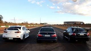 getlinkyoutube.com-Evo X, Subaru WRX e M3's