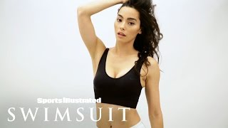 getlinkyoutube.com-Adrianne Ho On Her 'Sweat The Style' Brand & Passions | Casting Call | Sports Illustrated Swimsuit