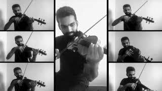   Kanmani Anbodu   Strings over by Manoj Kumar - Violinist