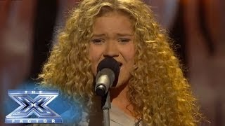 "getlinkyoutube.com-Rion Paige Rocks Out To ""Skyscraper"" - THE X FACTOR USA 2013"