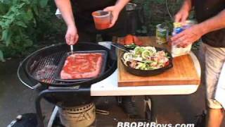Pan Grilled Meatloaf by the BBQ Pit Boys