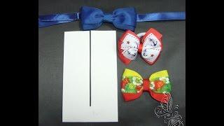 getlinkyoutube.com-Видео МК , как сделать лекало, при помощи которого легко изготовить бантики, и галстуки бабочки))