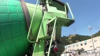 getlinkyoutube.com-中古トラック 日野 プロフィア カヤバ ミキサー車 3軸2デフ 外装