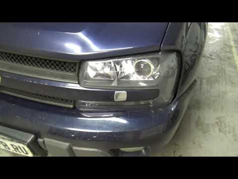 Улучшаем свет на Chevrolet TrailBlazer I +BI LED HELLA 3R LED