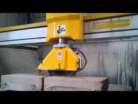 Visualizza il Video Taglio masselli con Fresa a ponte GMM | Prodotti in Marmo | Sicilia