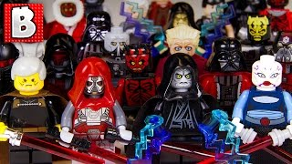 getlinkyoutube.com-Every Lego Sith Minifigure Ever Made!!! | Collection Review