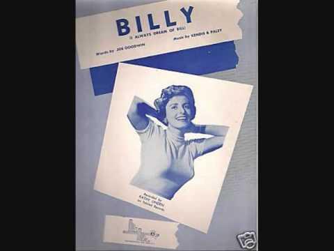 Billy de Kathy Linden Letra y Video