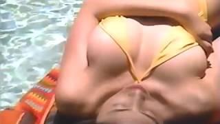 Yoshiko Furuya 古谷芳香 1 - Yellow Bathingsuit
