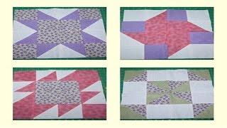 getlinkyoutube.com-Curso Patchwork - Técnica e Arte em Retalhos - Bloco de Quatro - Cursos CPT