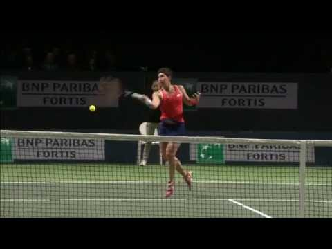 2015 BNP Paribas Fortis Diamond Games Semifinal WTA Highlights