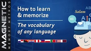 How to Memorize the Vocabulary of Any Language Using A Memory Palace