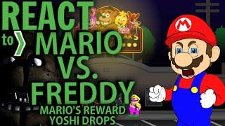 getlinkyoutube.com-LUIGIKID REACTS TO: MARIO VS FREDDY, MARIO'S REWARD & YOSHI DROPS