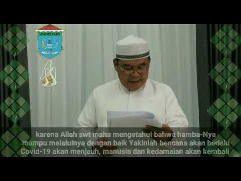 Sambutan Bupati OI Menyambut Hari Raya Idul Fitri 1441 H