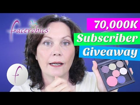 CLOSED NOW - 70,000 Subscriber Giveaway Watch to Find Out More | FACEROBICS® Face Exercise Program