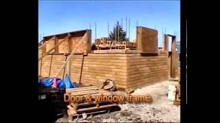 การก่อสร้างบ้านบล็อกประสาน