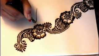 getlinkyoutube.com-Tricky Thursday: Taking Your Henna Design from Good to Great