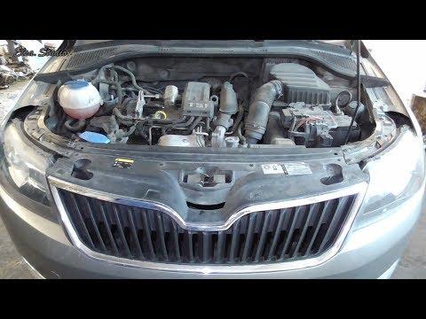 Замена масла в двигателе Skoda Rapid